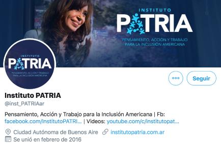 Twitter Patria